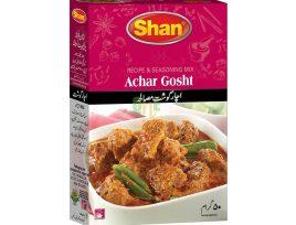 Shan Achar Gosht [Goat Curry]
